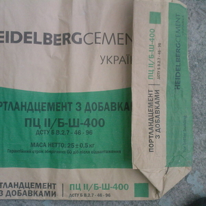 Цемент пц 400 c  Хайделберг металлопрокат машинные вагонные нормы