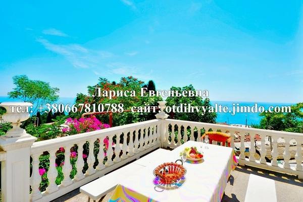 Сдам дом у моря в Ялте,  с видовой террасой,  мангалом,  над пляжем 8