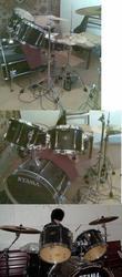 Продам барабанную установку Tama Superstar 6400