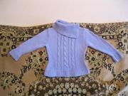 Продам красивые свитерки на девочку 4-7лет
