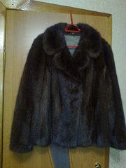 норковый полушубок-пиджак 42-44р