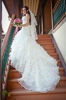 Шикарное Свадебное платье Elianna Moore (Франция),  модель 1150